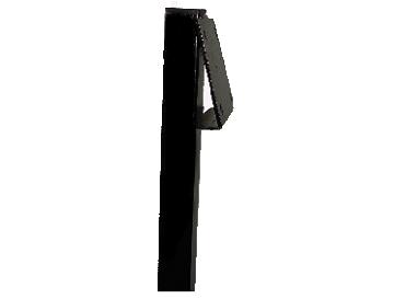 Artnr:91587 - Höjd:1500mm Pulverlackad med UV-beständig färg. Rostskyddsbehandlad invändigt, vinklad bildplatta.