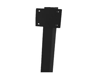 Artnr:91580 - Höjd:1500mm Pulverlackad med UV-beständig färg. Rostskyddsbehandlad invändigt.